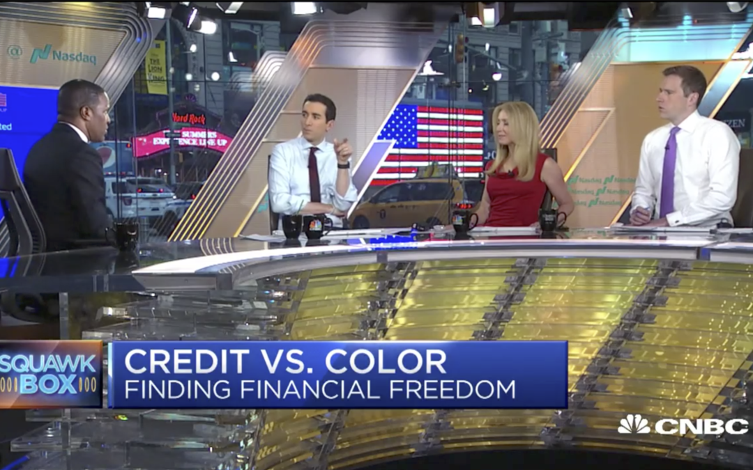 "Credit vs. Color – CNBC's ""Squawk Box"""